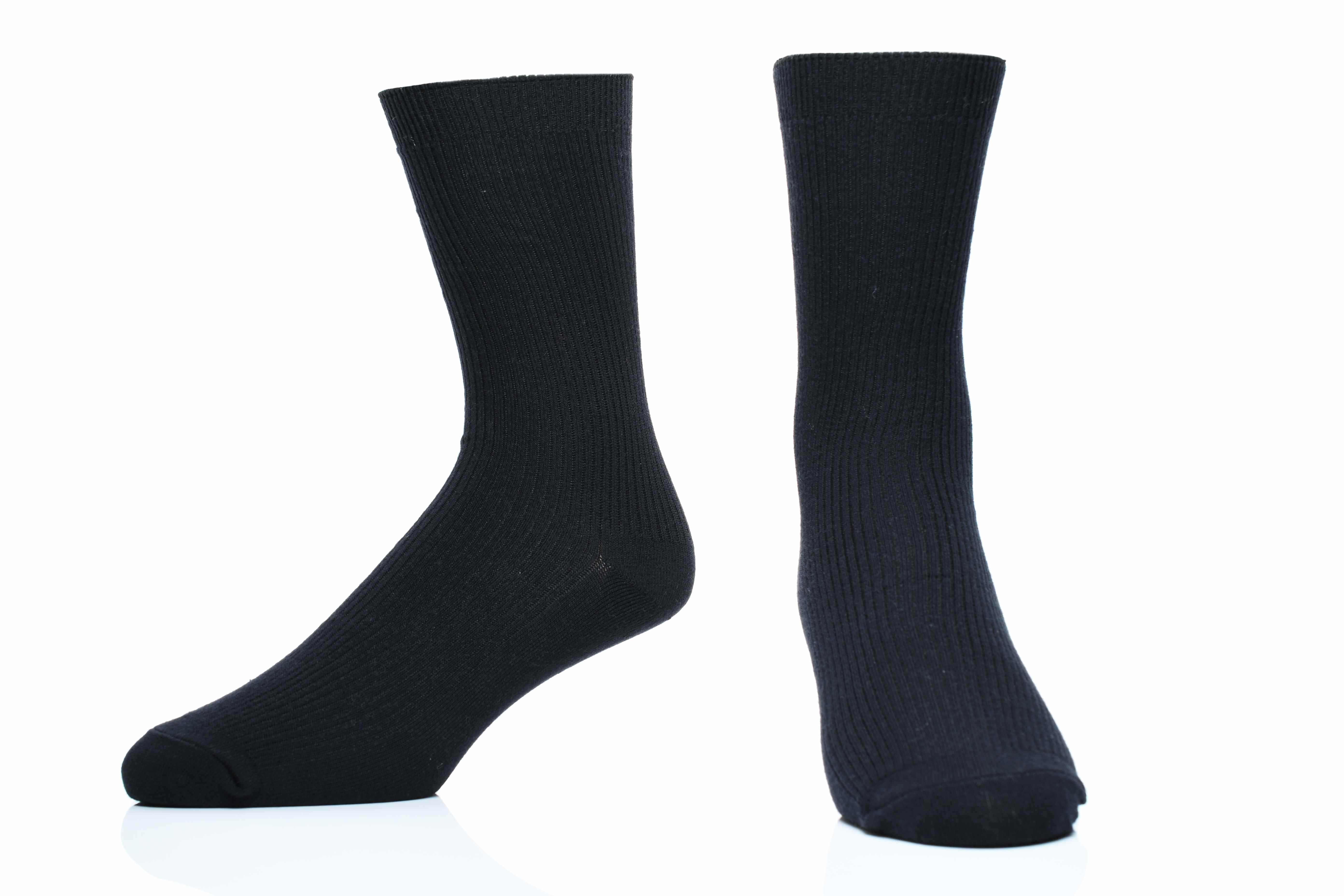 【A101】- 中筒素色紳士襪(平面)