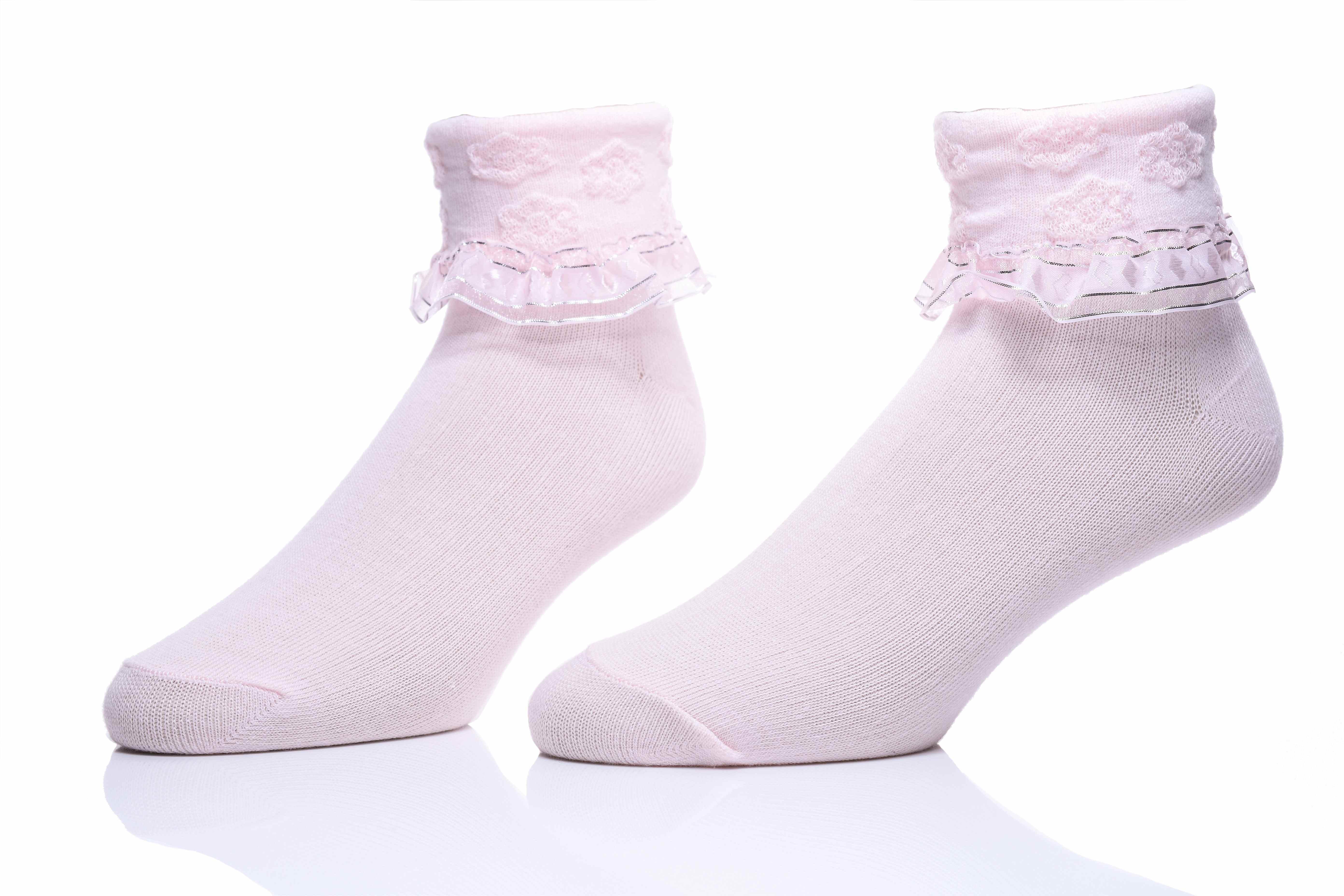 【908】- 立體小花瓣 ‧ 蕾絲襪